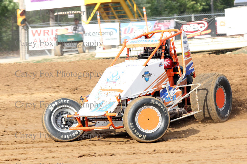 August 4, 2012 - Sprints and Modifieds