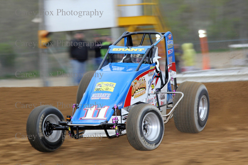 April 27, 2013 - USAC Sprint Cars
