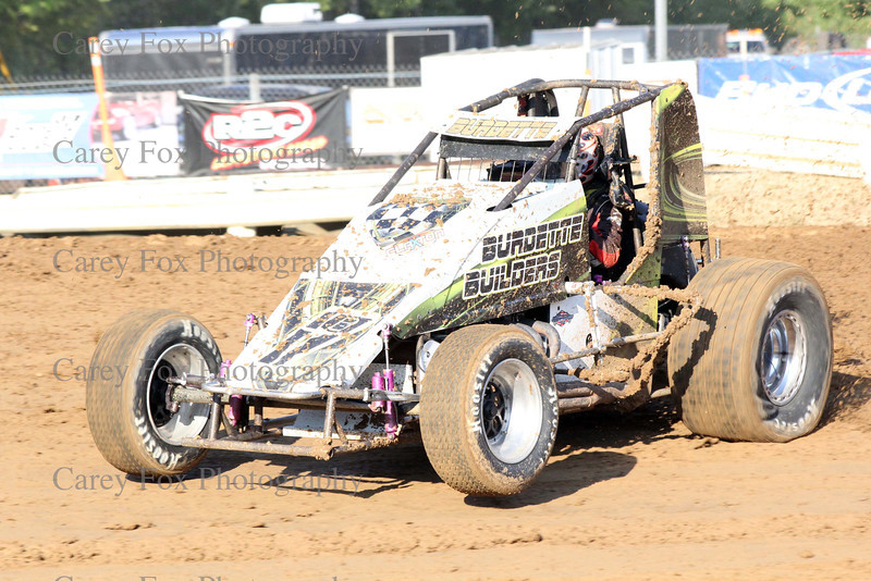 August 11, 2012 - Sprints and Modifieds