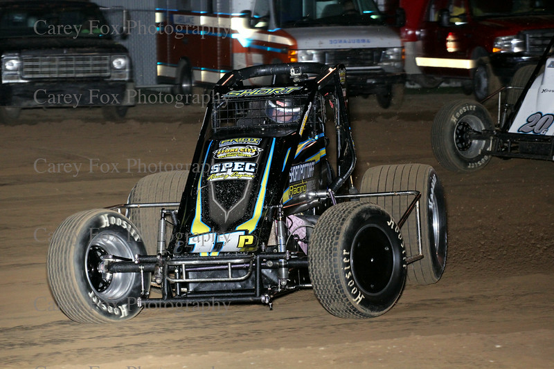 August 30, 2014 - Putnamville Clash - Sprint cars