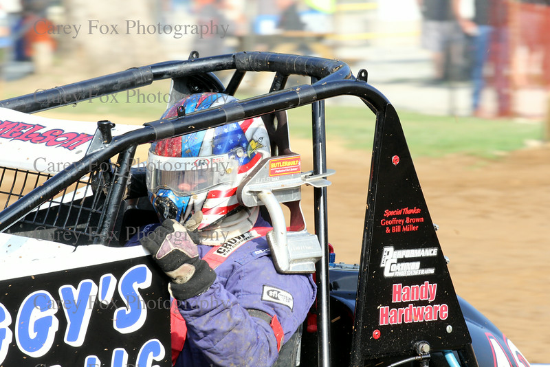 August 9, 2014 - Sprints and Modifieds